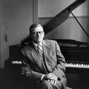 Dmitri Shostakovich portrait