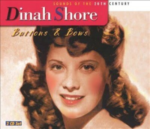 Buttons and Bows by Dinah Shore Album Art