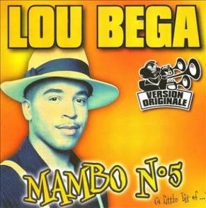 Mambo No 5 by Lou Bega Album Art