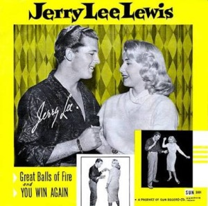 Great Balls of Fire by Jerry Lee Lewis Album Art