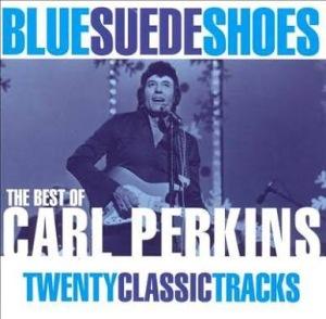 Blue Suede Shoes by Carl Perkins Album Art