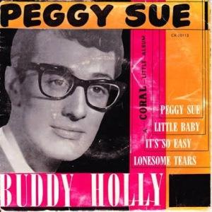 Peggy Sue by Buddy Holly Album Art