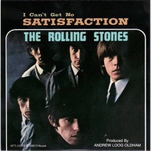 I Can't Get No Satisfaction by The Rolling Stones Album Art