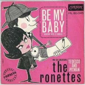 Be My Baby by The Ronettes Album Art